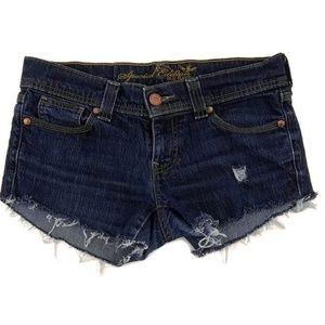American Eagle Cutoff Denim Jean Shorts Distressed